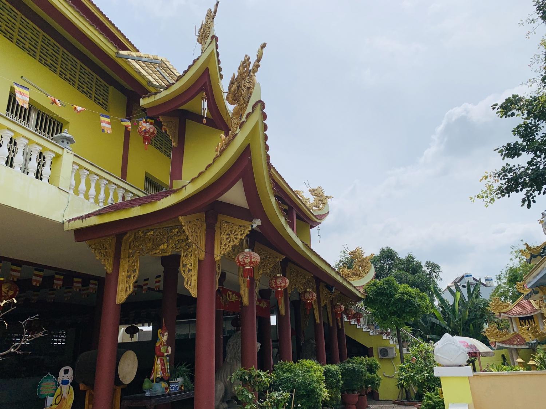 Chùa Quang Long phường Tân Phong