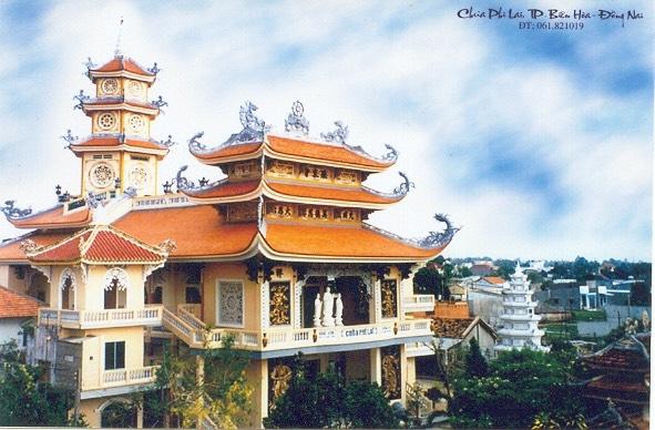 Chùa Phi Lai phường Tân Tiến