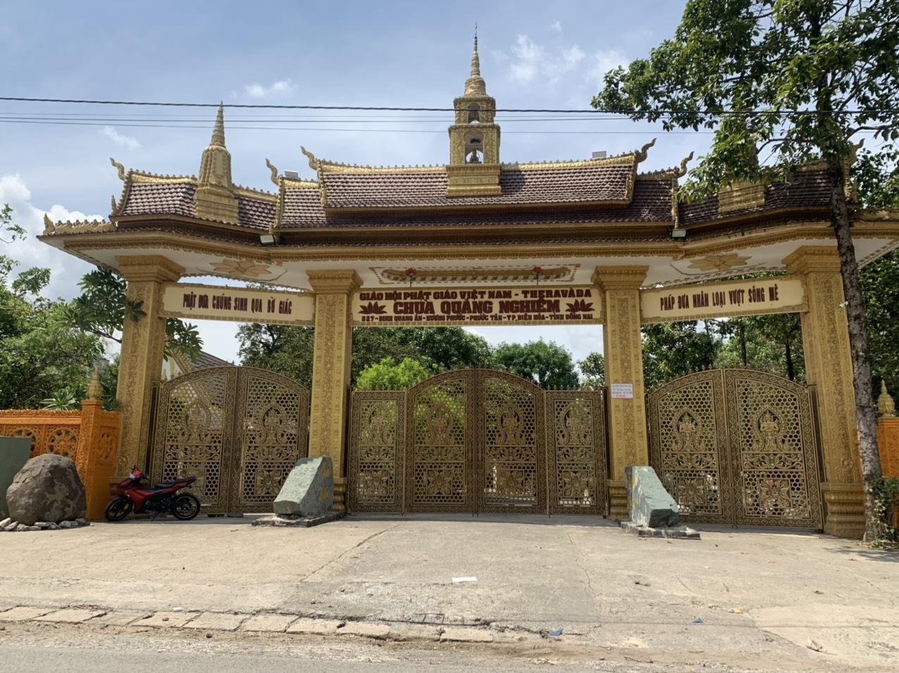 Chùa Quảng Nghiêm phường Phước Tân
