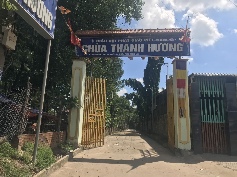 Chùa Thanh Hương phường Tam Phước