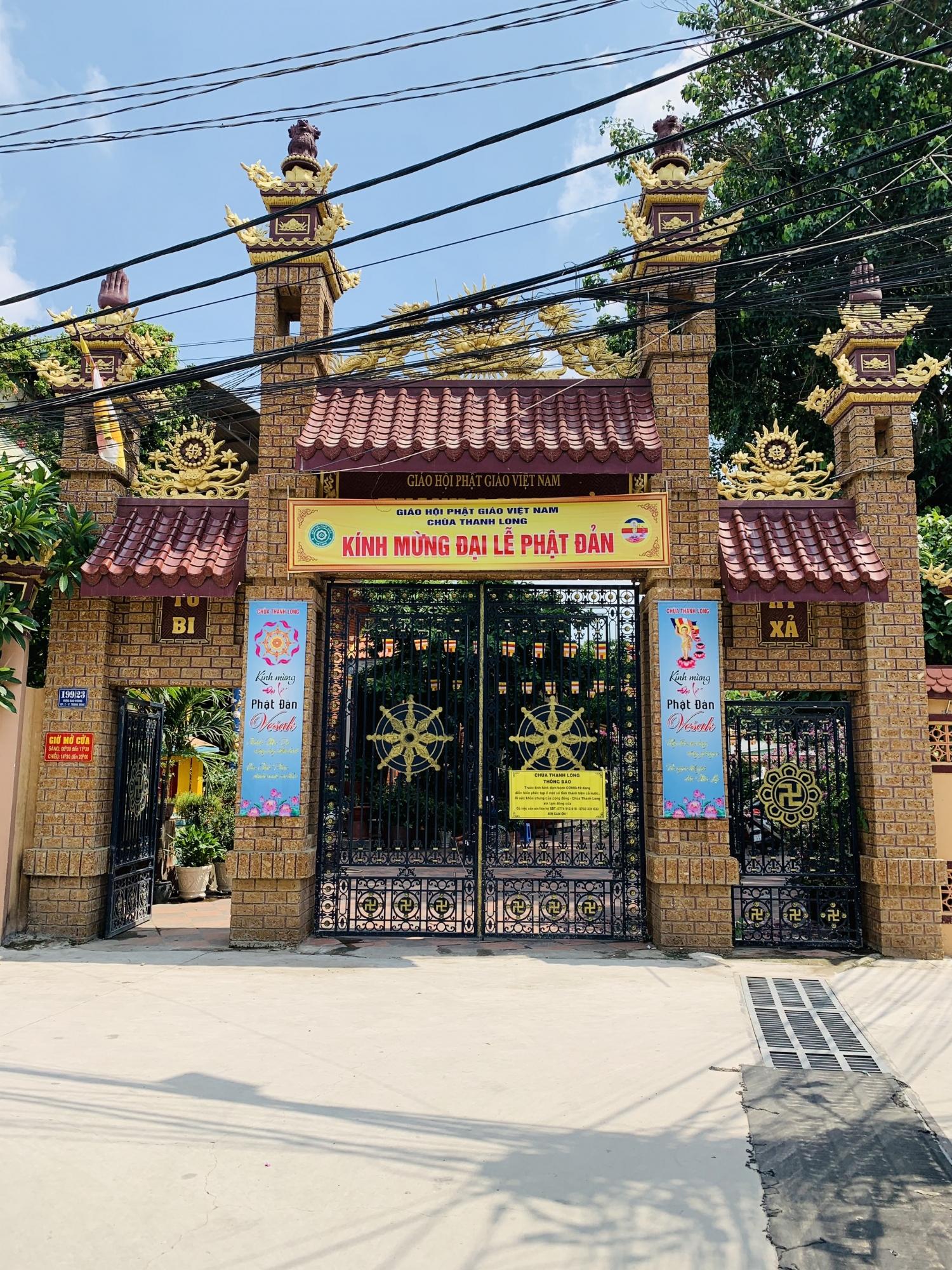 Chùa Thanh Long phường Trung Dũng