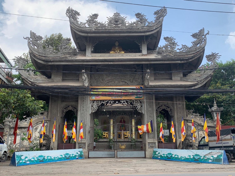 Chùa Tịnh Nghiêm phường Bình Đa