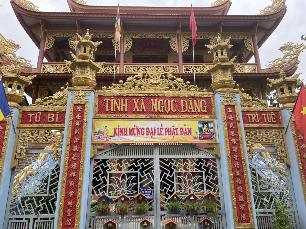 Tịnh Xá Ngọc Đăng phường An Bình