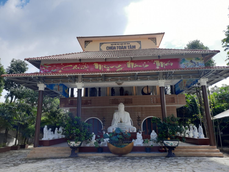 Chùa Toàn Tâm phường Phước Tân