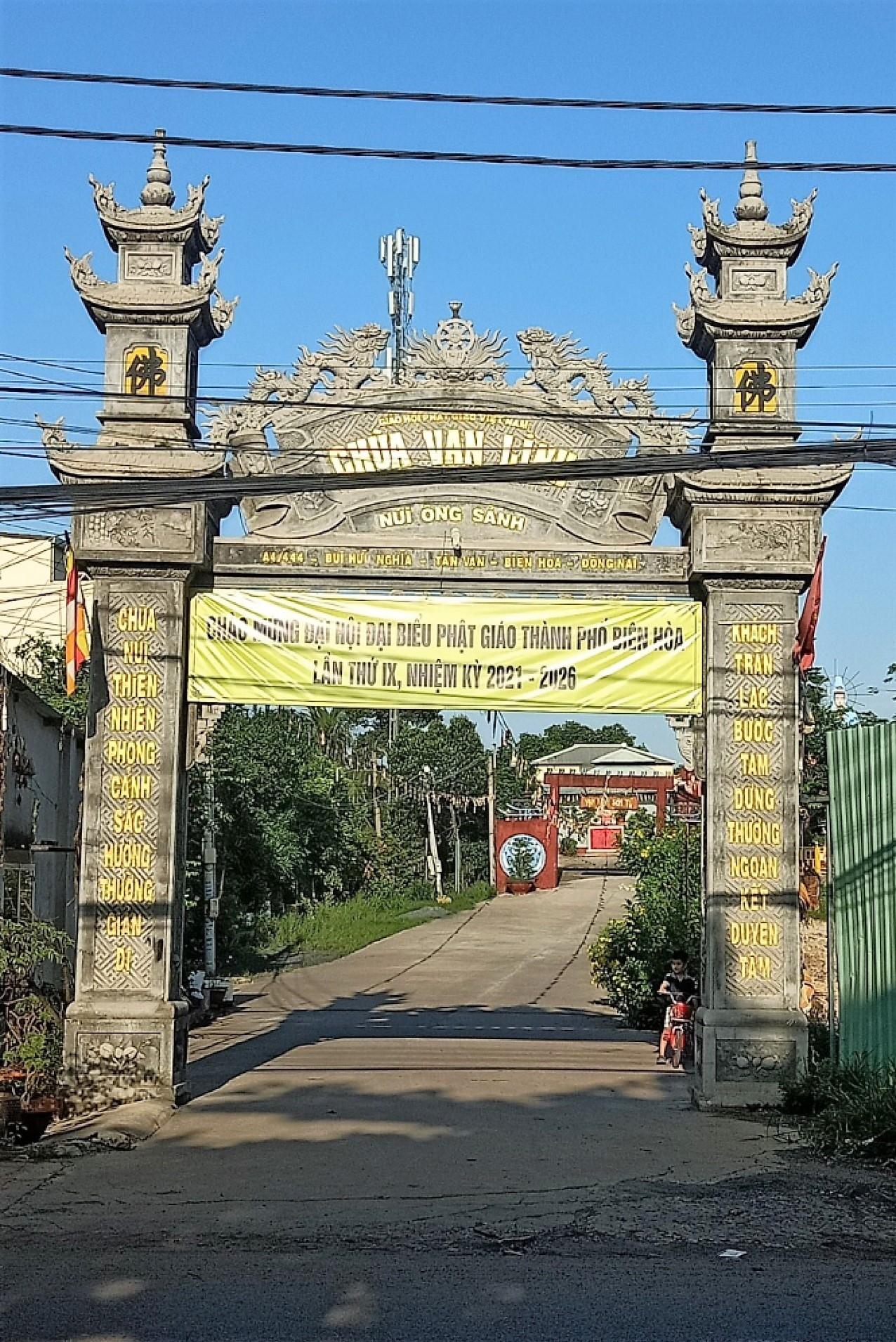 Chùa Vạn Linh phường Tân Vạn
