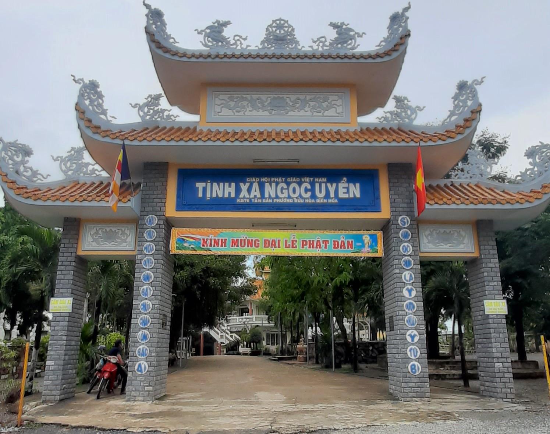Tịnh Xá Ngọc Uyển phường Bửu Hòa